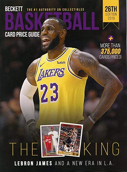 Beckett Basketball 26th Edition 2019 Annual Card Price Guide Lebron James New