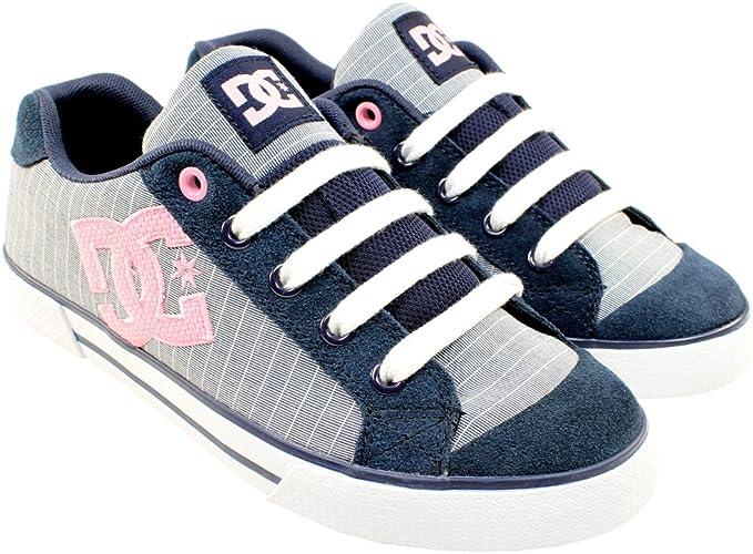 Womens DC Shoes Co Chelsea Plaid Navy