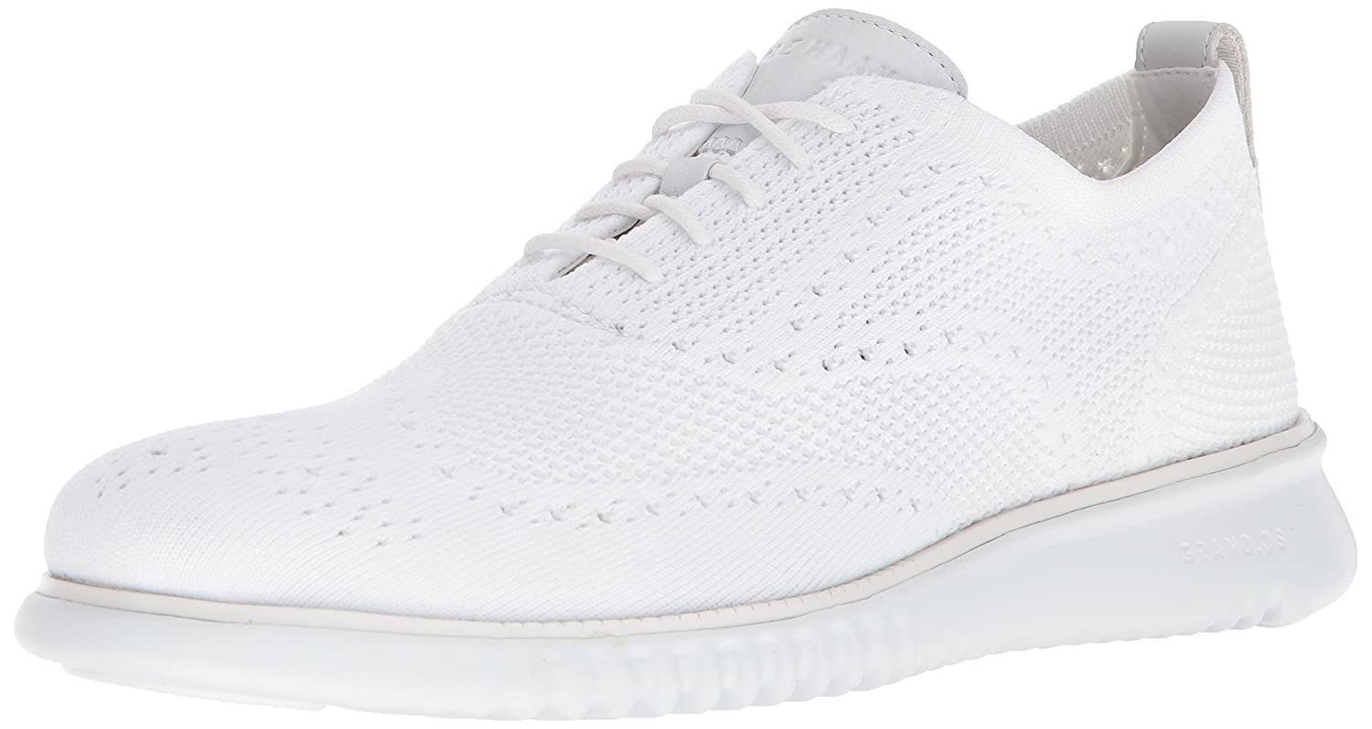 Optic White Knit Cole Haan Men's 2.Zerogrand Stitchlite Sneakers