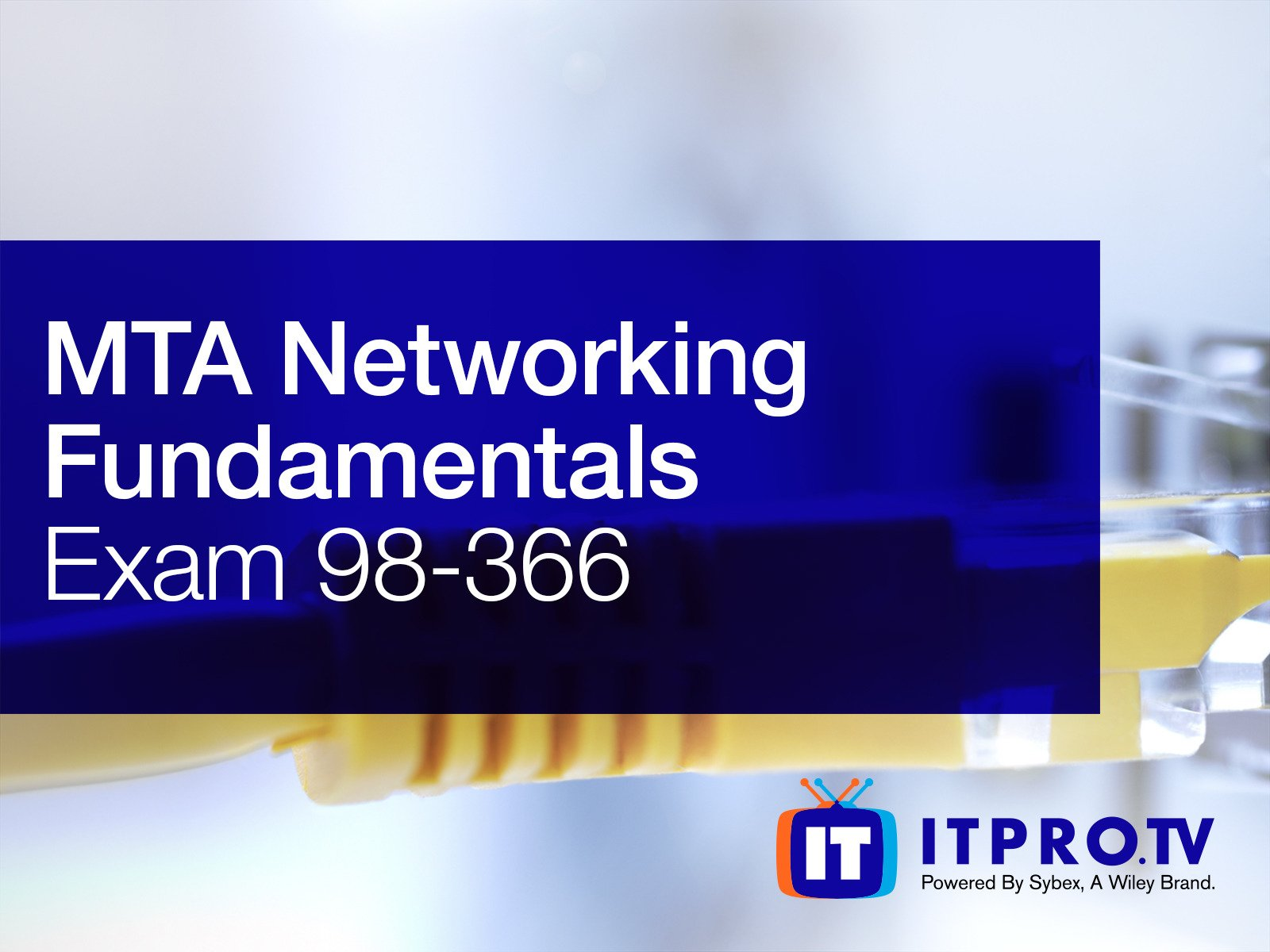 Amazon Watch Mta Networking Fundamentals Exam 98 366 Prime Video