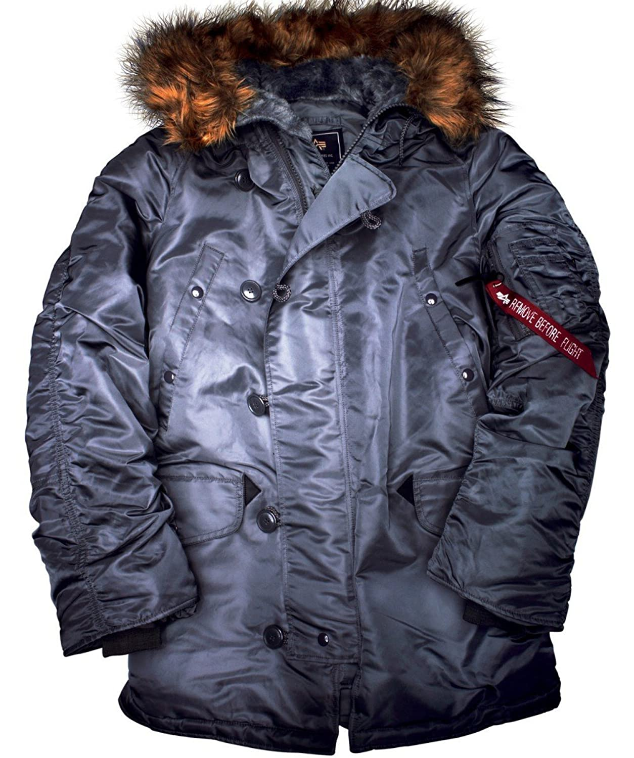 Alpha Industries N3B Winterjacke Black