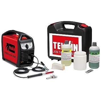 Telwin - Limpiador de las partes romos TIG y MIG 230 V 1PH con Kit - Cleantech 200 + Kit: Amazon.es: Bricolaje y herramientas