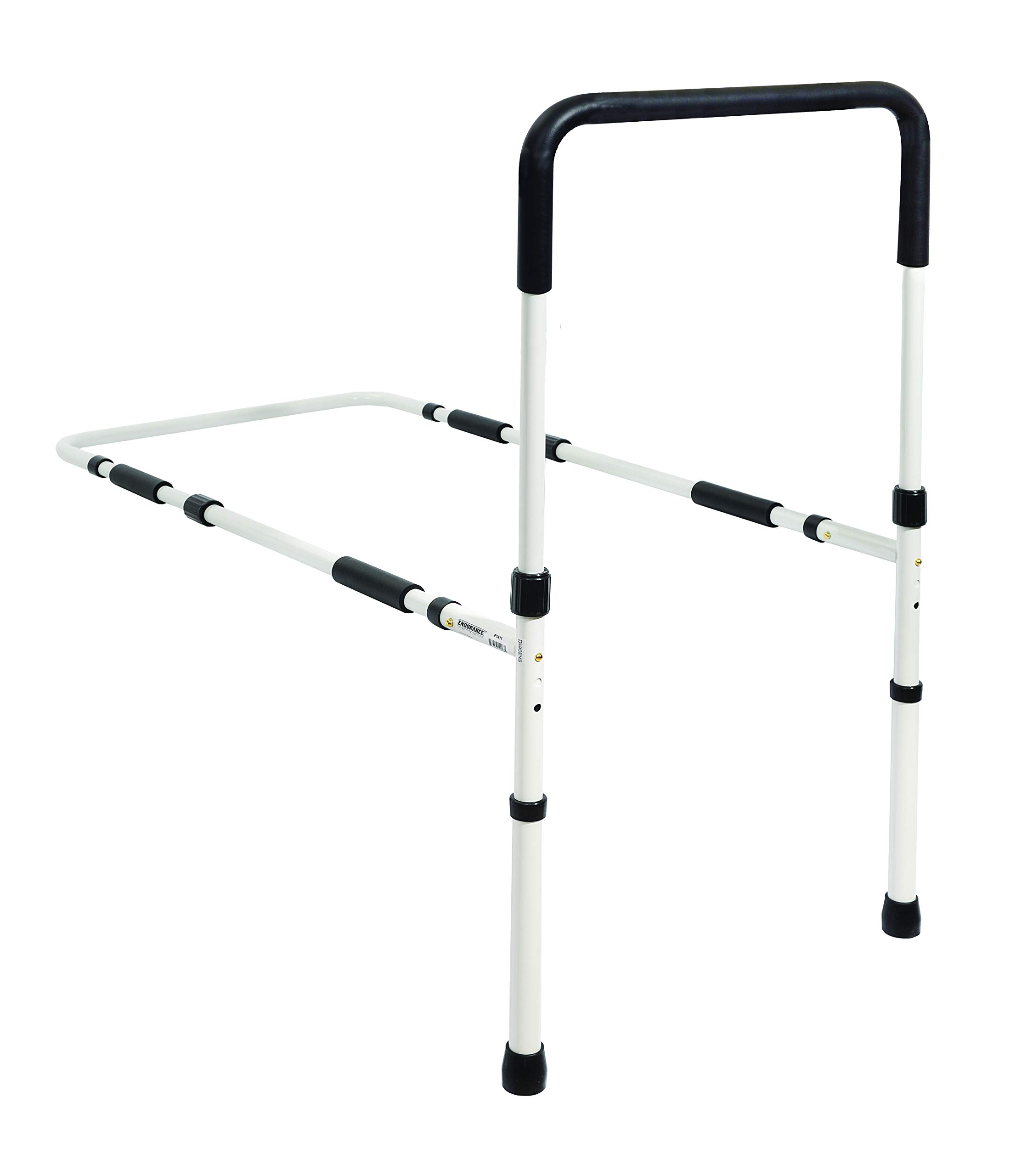 Essential Medical Supply Height Adjustable Hand Bed Rail with Floor Supports by Essential Medical Supply