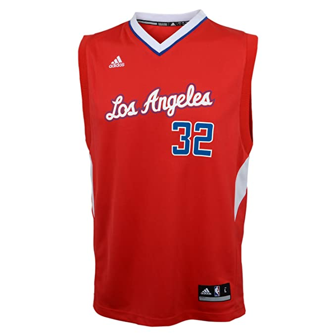 sports shoes 47b1f bcef4 NBA Los Angeles Clippers Blake Griffin #32 Youth Replica Road Jersey, Red