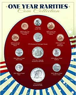 product image for One Year Rarities Coin Collection| Genuine United States Minted Coins | Americana Collectible | Certificate of Authenticity – American Coin Treasures