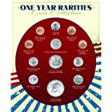 1958-5 Coin Birth Year Set in American Flag Holder Uncirculated