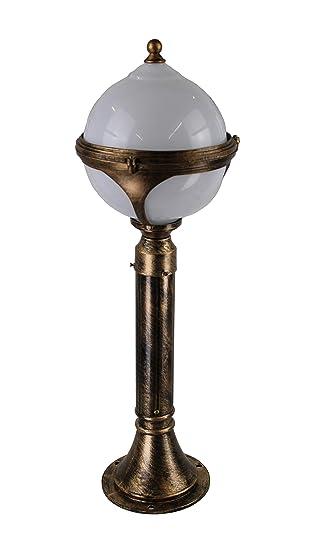 Kugel Gold Garten 80 cm Stehlampe Aussenleuchte Paris Leuchte ...