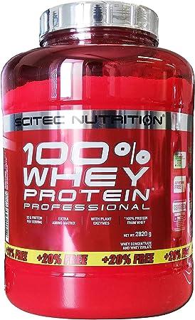 Scitec Nutrition Whey Protein Professional Erdbeere-Weiße Schokolade 2820g (D)