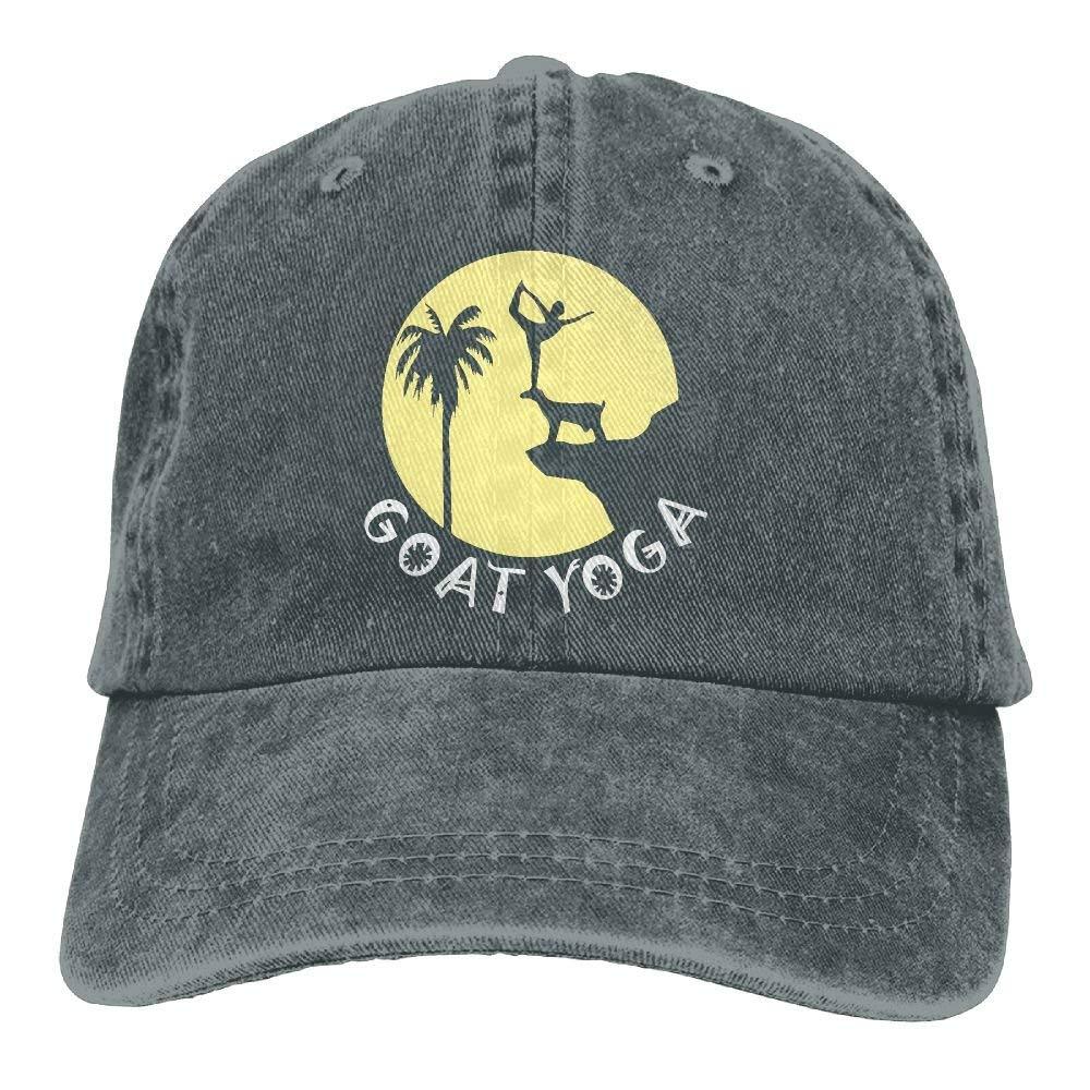 Socksforu Goat Yoga Funny Zen Yoga Vintage Jeans Gorra de béisbol ...