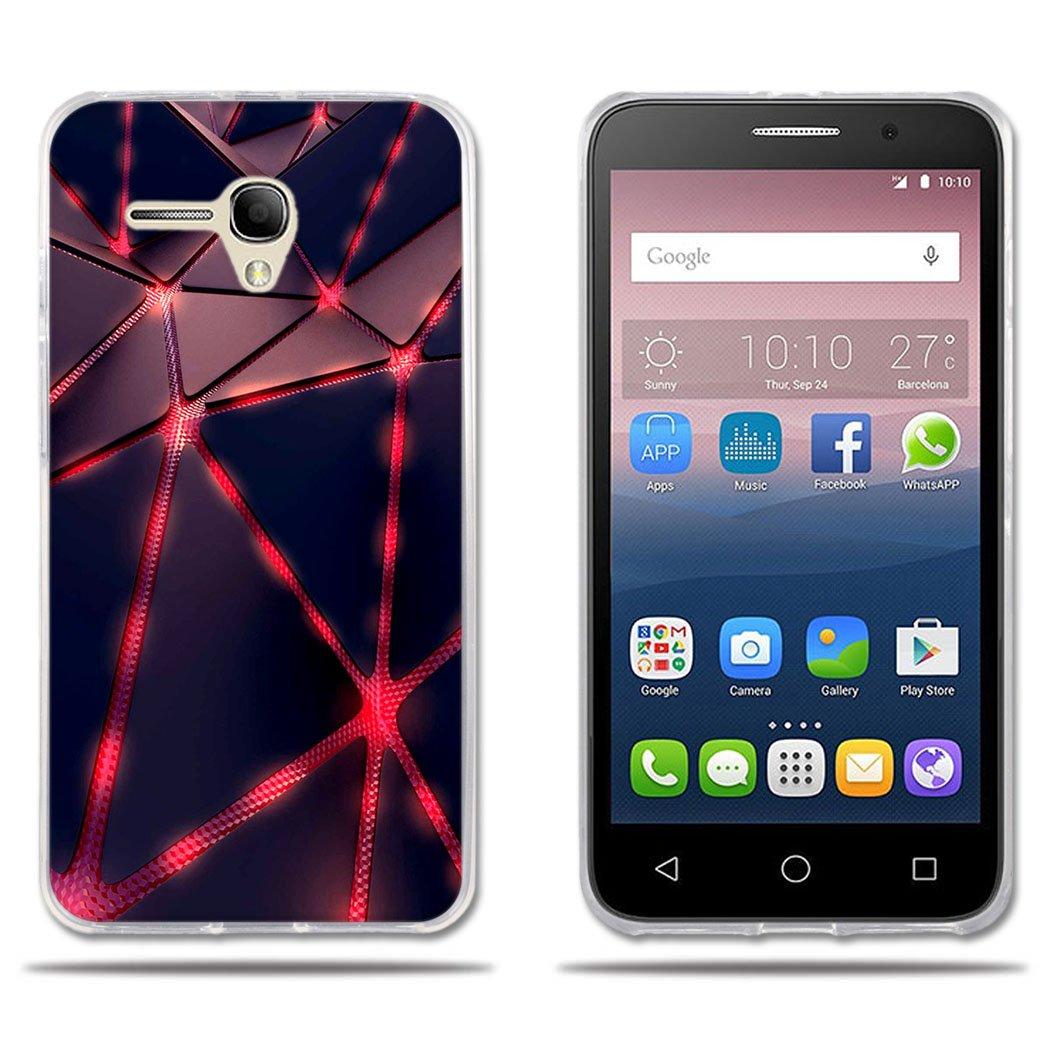 promo code 8d93d 24654 Amazon.com: Alcatel One Touch Pop 3 5.5 Case, Alcatel Pop 3 5.5 inch ...