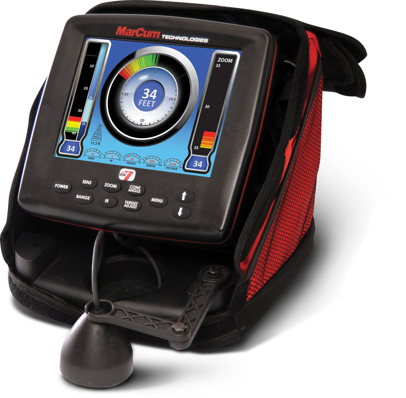 Marcum LX-7 Ice Fishing Sonar System/Fishfinder - LX-7 by MarCum