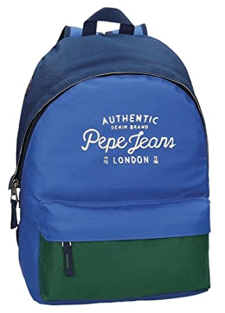 Pepe Jeans Sac à dos double compartiment adaptable au chariot Kepel Q7DPxsHqx