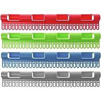 Lunji étendoir acero inoxidable,–Tendedero para calcetines–antideslizante, cortavientos (colores