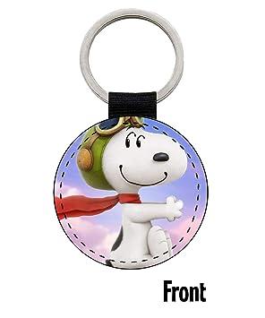 MasTazas The Peanuts Charlie Brown Snoopy Llavero Keyring ...