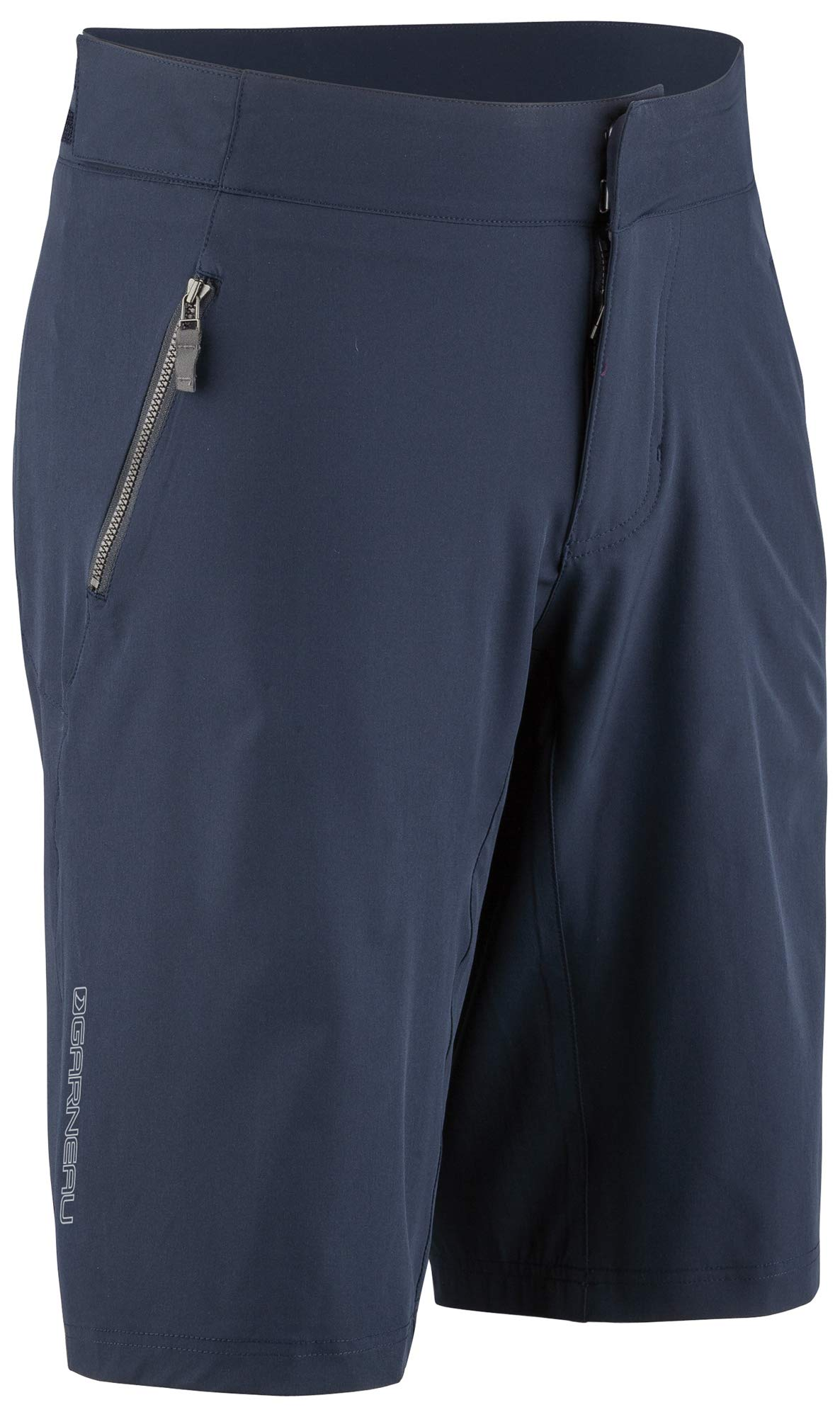 Louis Garneau Men's Leeway Bike Shorts, Dark Night, Small