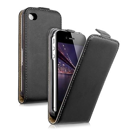kwmobile Apple iPhone 4 / 4S Hülle - Handyhülle für Apple iPhone 4 / 4S - Handy Case Flip Schutzhülle