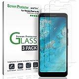 Google Pixel 3a XL Screen Protector Glass (3 Pack), amFilm Case Friendly Tempered Glass Screen Protector Film for Google Pixel 3a XL (2019)