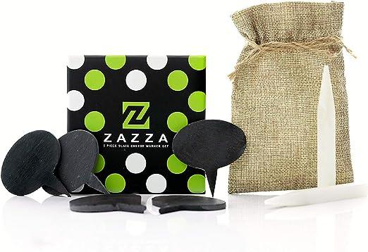 Amazon.com: zazza – Juego de 5 tablas de pizarrón natural ...