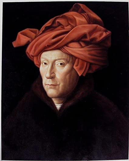 Amazoncom Roya Art Jan Van Eyck Portrait By Jan Van Eyck