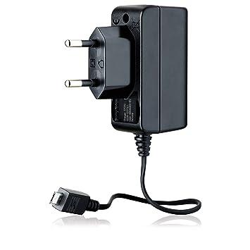 Sony Ericsson EP310 - Cargador microUSB, GreenHeart, negro