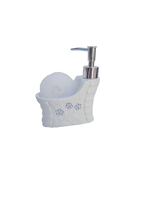 Elegante Y Moderno Conjunto Accesorios De Baño 4 Piezas Dosificador Jabonera Soporte Cepillo De Dientes Y