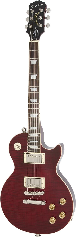 Epiphone Les Paul Tribute Plus Outfit - Guitarra eléctrica, color black cherry: Amazon.es: Instrumentos musicales