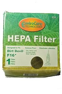 Dirt Devil Style F16 Filter 086700, 086710, 086700W