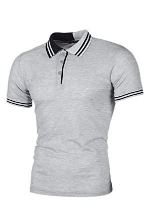 Polo De Golf Masculino para Hombre Performance Slim Clásico Casual ...