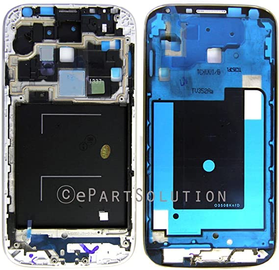 Samsung Galaxy S4   Screen and Digitizer with Front Housing white