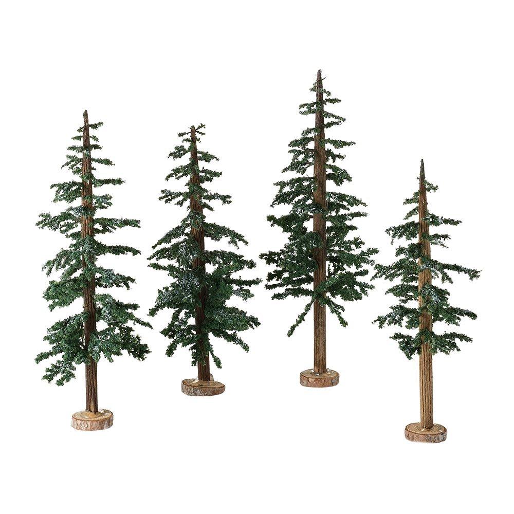 Amazon.com: Department 56 Accessories Villages Winter Lodge Pine ...