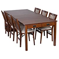 Deals on MECO Stakmore Traditional Expanding Table Finish 4272.00841