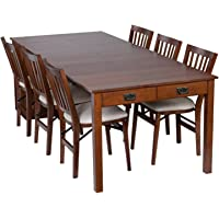 Meco Stakmore Mission Style Expanding Dining Table (Fruit wood)