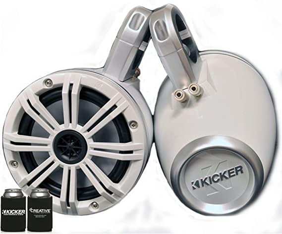 KICKER White Wake Tower System 6.5