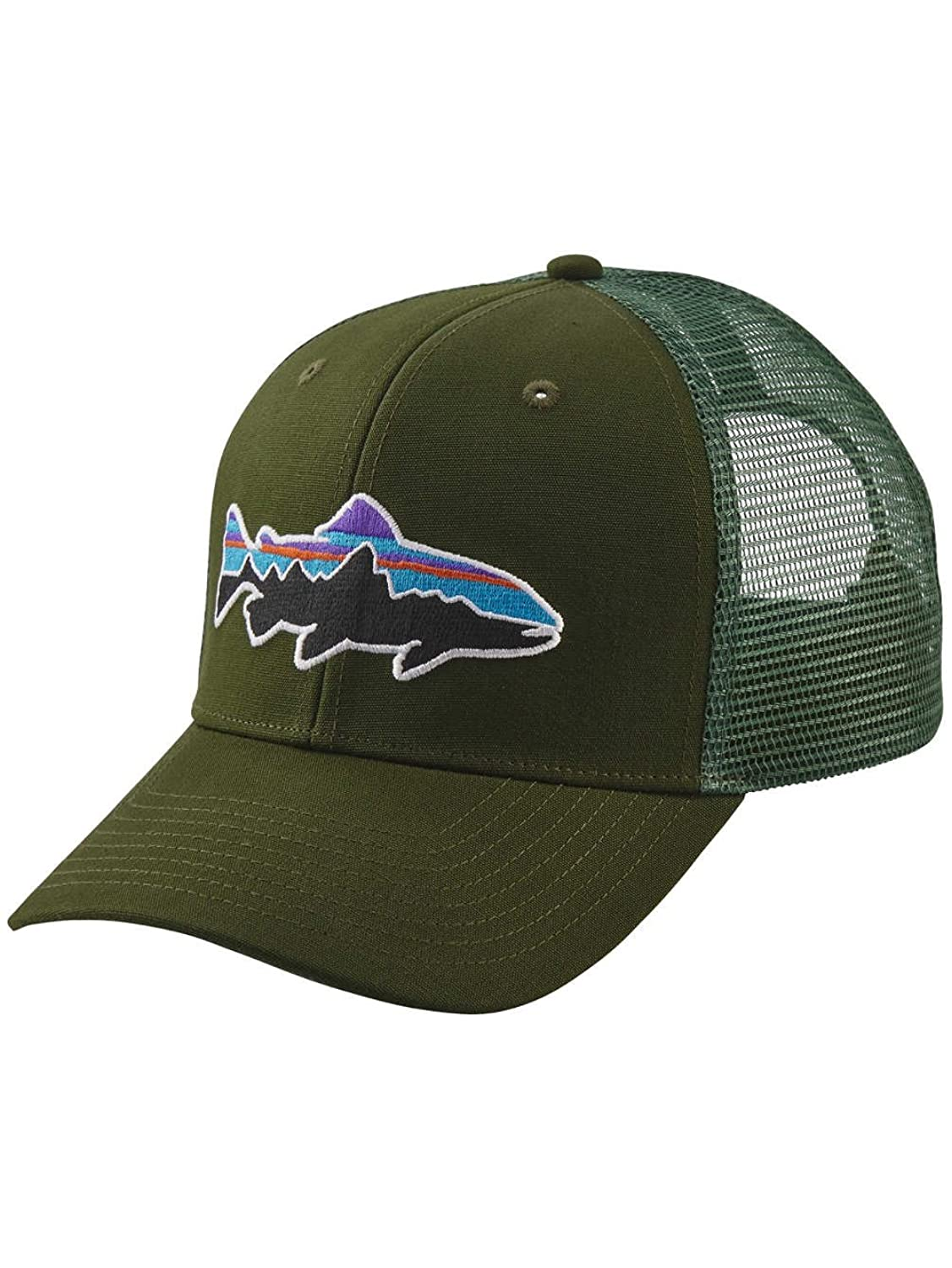 Patagonia Fitz Roy Trout Trucker Hat B0714FCT86  Glades Green One Size
