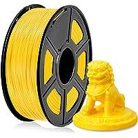 Filamento PLA 1,75 mm, Filamento PLA para impresora 3D, Filamento PLA 1 KG (2,2 lb) PLA Amarillo