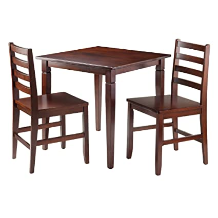Amazon Winsome 94363 Kingstate Dinning Table With 2 Hamilton