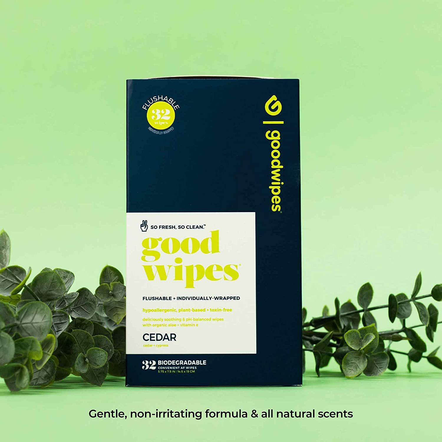 30 Count goodwipes Guys Below The Belt Wipes Flushable Individually Wrapped