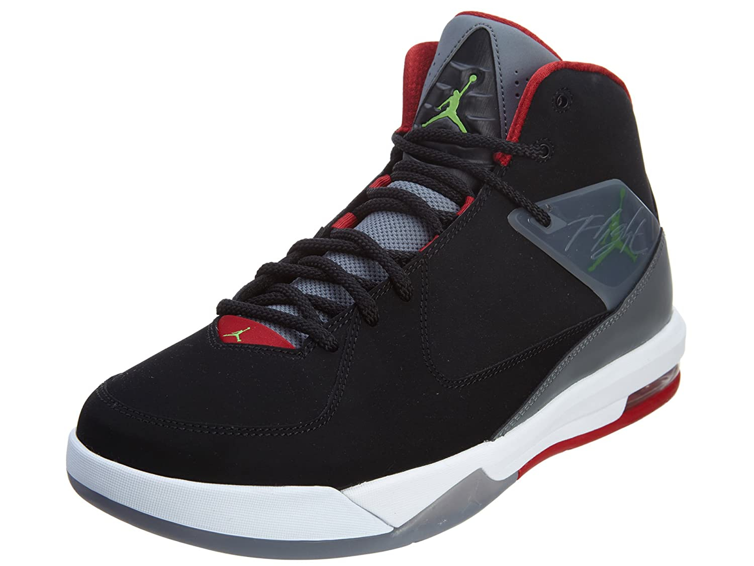 Amazoncom nike air jordan air incline mens hi top basketball trainers 705796 sneakers shoes us 105 black green pulse cool grey gym red 013 Fashion