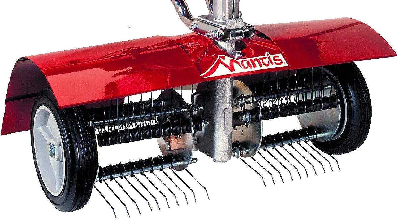 Mantis 5222 Power Tiller Dethatcher Attachment for Gardening : Garden & Outdoor