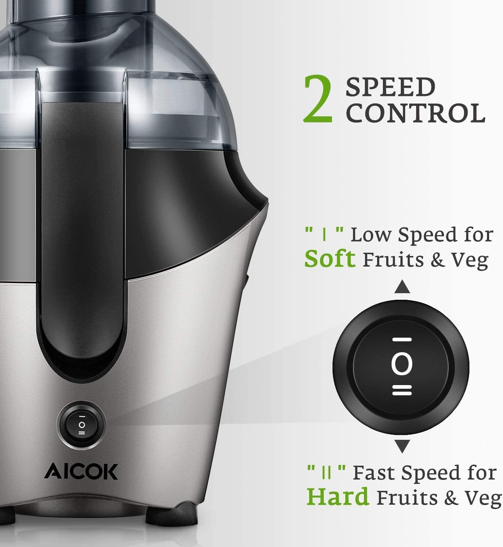 Aicok Licuadoras para Verduras y Frutas, Licuadora Exprimidor De ...