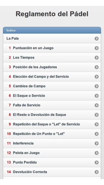 Amazon.com: Spanish Paddle Tennis Rules (Reglamento de Pádel): Appstore for Android