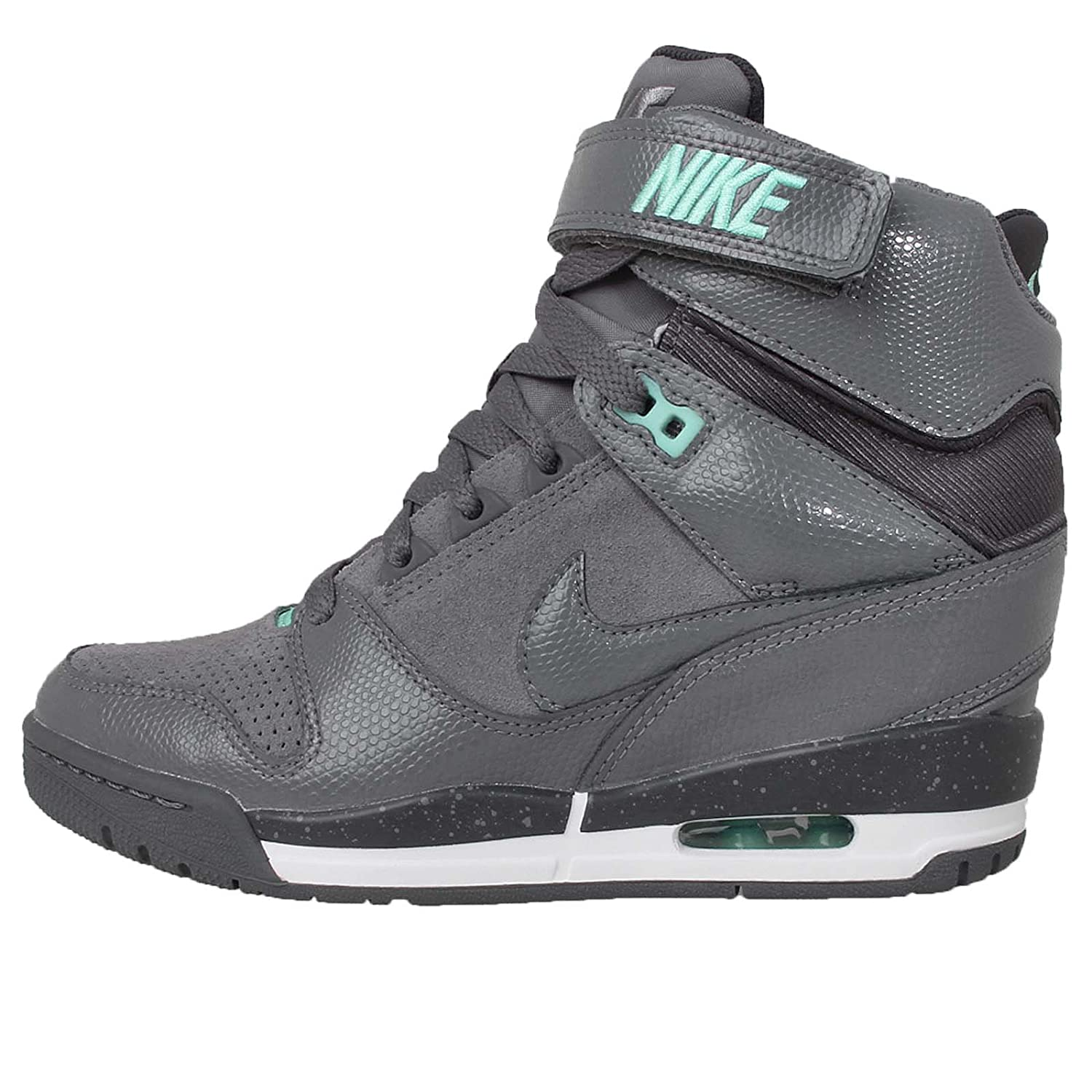 3beefd9af8 NIKE Women's WMNS Air Revolution Sky Hi, Cool Grey/Cool Grey-Anthrct ...
