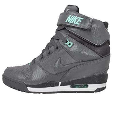 super popular 6d070 2c6d0 NIKE Women's WMNS Air Revolution Sky Hi, Cool Grey/Cool Grey-Anthrct-Hyper  Turquoise, 10 US: Amazon.co.uk: Shoes & Bags