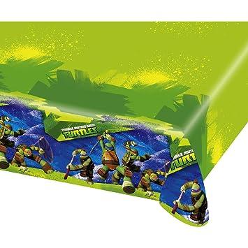 Amakando Cubre Mesa cumpleaños Teenage Mutant Ninja Turtles ...