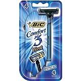 Bic Comfort 3 Pivot Razors(pack of 4)