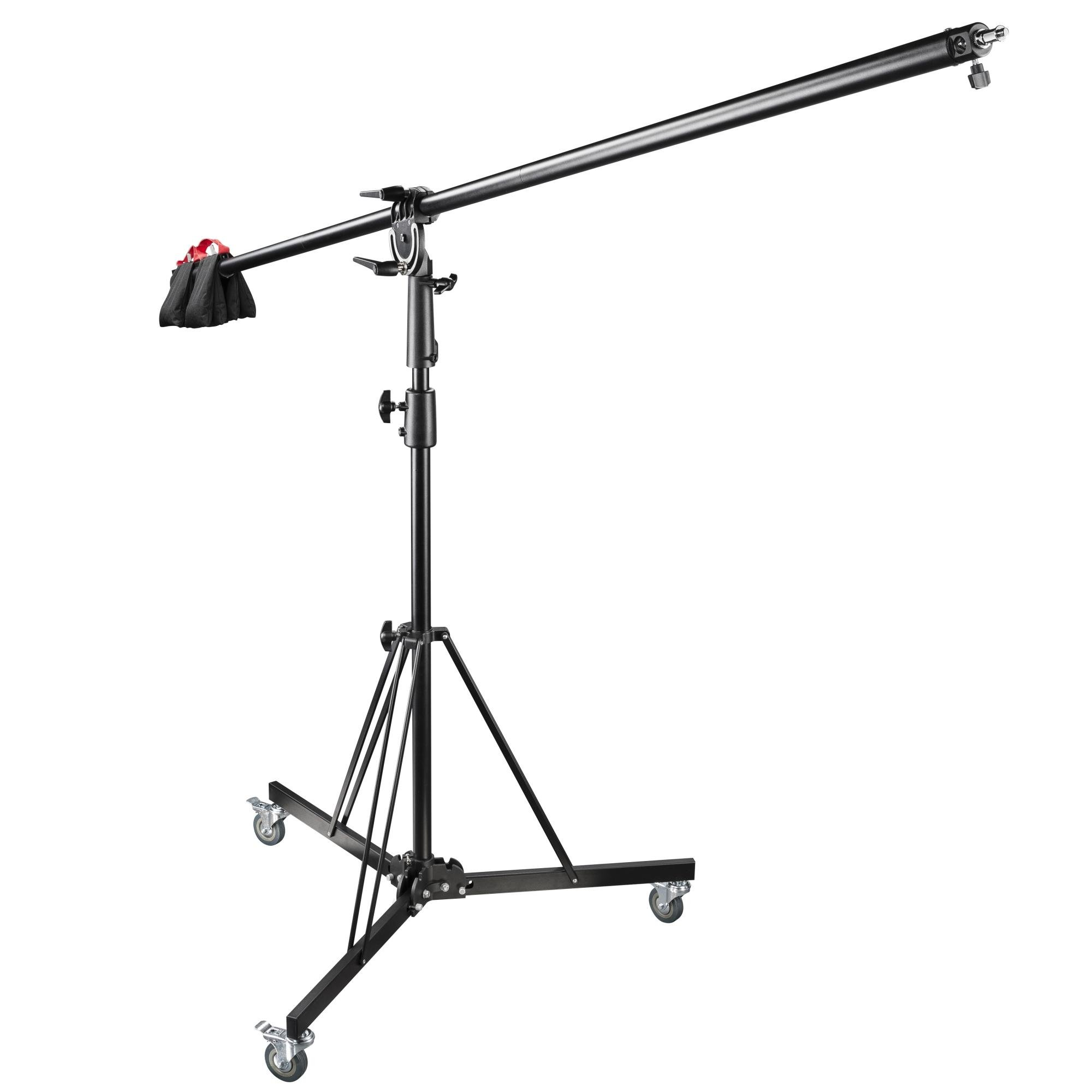 Walimex Pro Wheeled Boom Stand with Counterweight by Walimex Pro