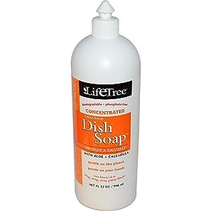Life Tree, Dish Soap, Citrus Fresh, 32 oz (946 ml) - 2pc