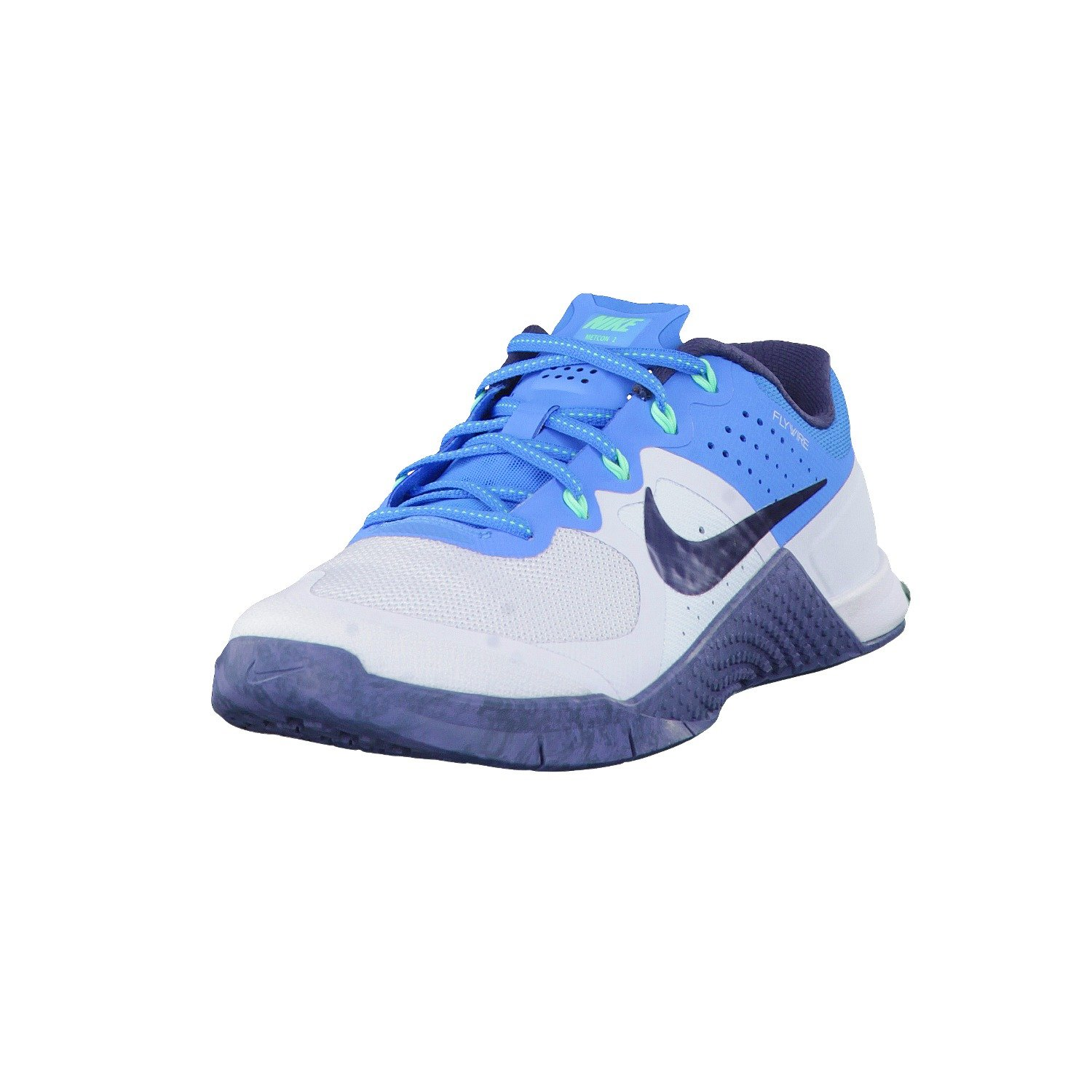 Nike Womens Metcon 2 Training Shoes - Blue Tint/ Squadron Blue (7) by NIKE
