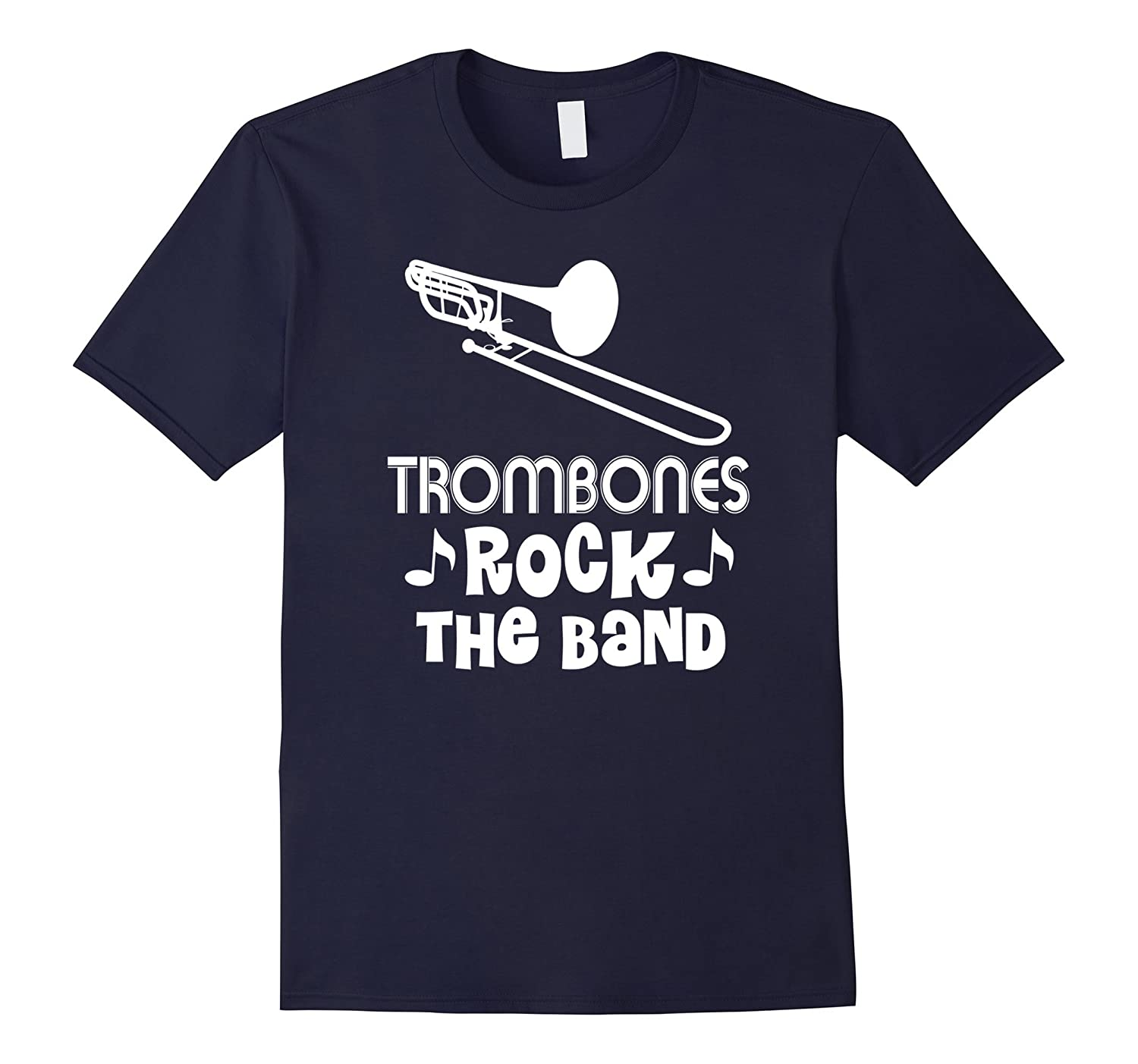Trombone T-shirt Funny Marching Band Camp Music Tee-CL