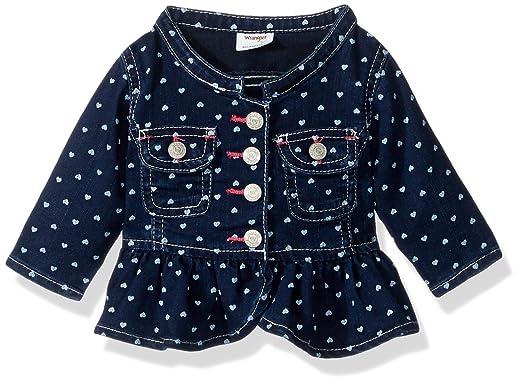 8f0312d740bc Amazon.com  Wrangler Authentics Girls  Heart Jacket  Clothing